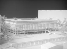 Concours | Collège Rousseau  | 1/500ème | Genève, 2018 | msv architectes urbanistes