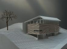 Chalet contemporain | 1/50 | Bruson 2007 | Miden Architecte