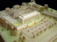 Hôpital de la Tour | 1/200ème | Genève, 2015 | De Planta et Portier Architectes