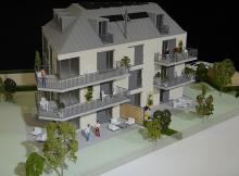Immeuble de promotion  | 1/50ème | Vaud, 2015 | Imagina