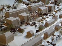 Concours de logement à Henri-Golet | 1:500 | Genève 2013 | Ar-Ter Atelier d'architecture, 3ème prix