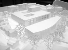 Concours |  Centre Communal |  1/500ème |  Carouge, 2011 |  Spitsas & Zanghi