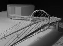 Concours | Passerelle  | 1 :200  | En Dorigny 2013  | ASS architectes associés SA & Blue office architecture