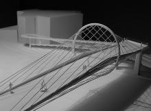 Concours | Passerelle  | 1/200ème  | En Dorigny 2013  | ASS architectes associés SA & Blue office architecture