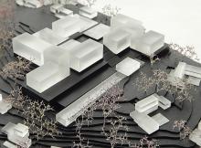Concours | complexe hôtelier |  1:1000 | France 2012 | Stef Claes Architect