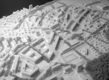 Plaine des Loups | 1/2000ème | Lausanne, 2010 | msv architectes urbanistes