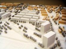 Les vergers de Meyrin | 1/1000ème | Genève, 2010 | msv architectes urbanistes